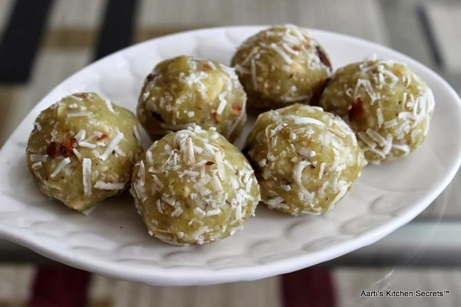 Sweet Potato Laddu Recipe by Aarti Sharma