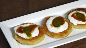 Aloo Tikki (Potato Patties) Recipe by Manjula