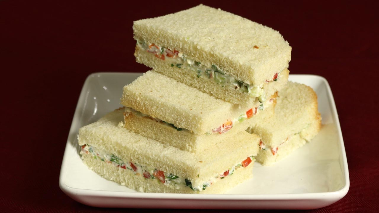 Cream Cheese Ssandwiches Recipe by Manjula