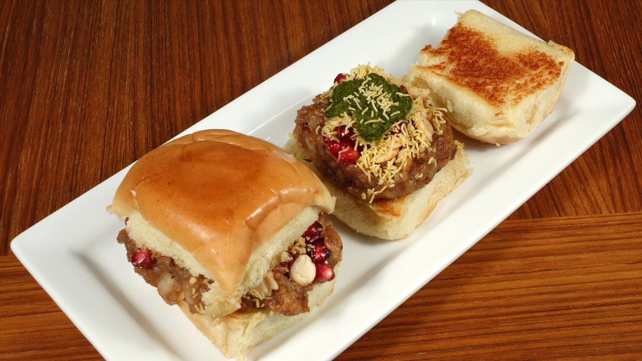 Dabeli Spicy Potato Sandwich Recipe by Manjula