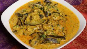 Dahi Baingan (Sauteed Eggplant with Yogurt) Recipe by Manjula