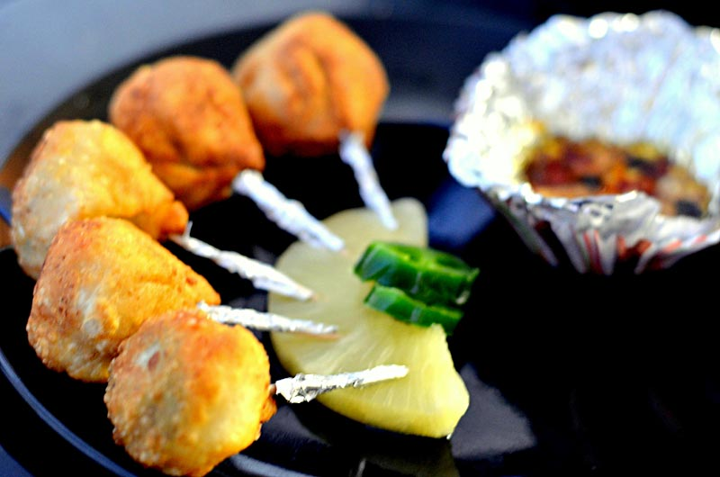 Pineapple Jalapeno Pops Recipe by Divya Ravindran