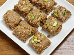 Dodha Burfi (Punjabi Milk Fudge) Recipe by Manjula
