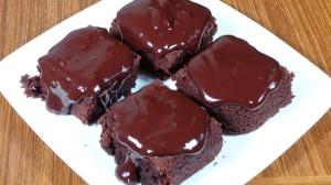 Eggless Chocolate Cake Recipe by Manjula