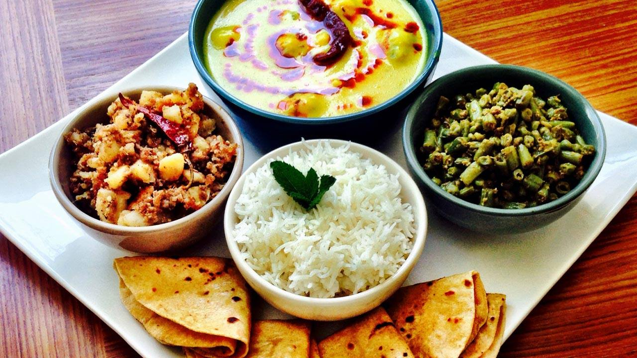 Everyday Lunch Menu - Indian Vegetarian Recipes by Manjula