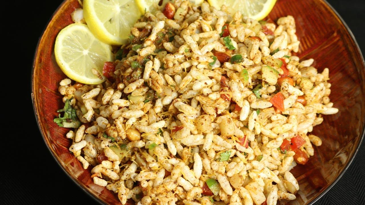 Jhaal Muri (Kolkata Puffed Rice Snack) Recipe by Manjula