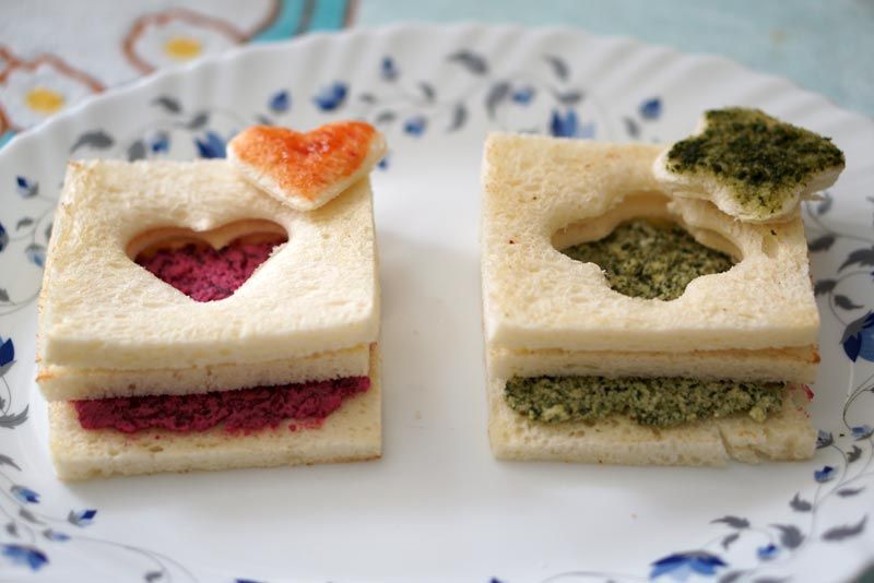 Surprise Door Sandwich Recipe by Kanwaljeet Chhabra