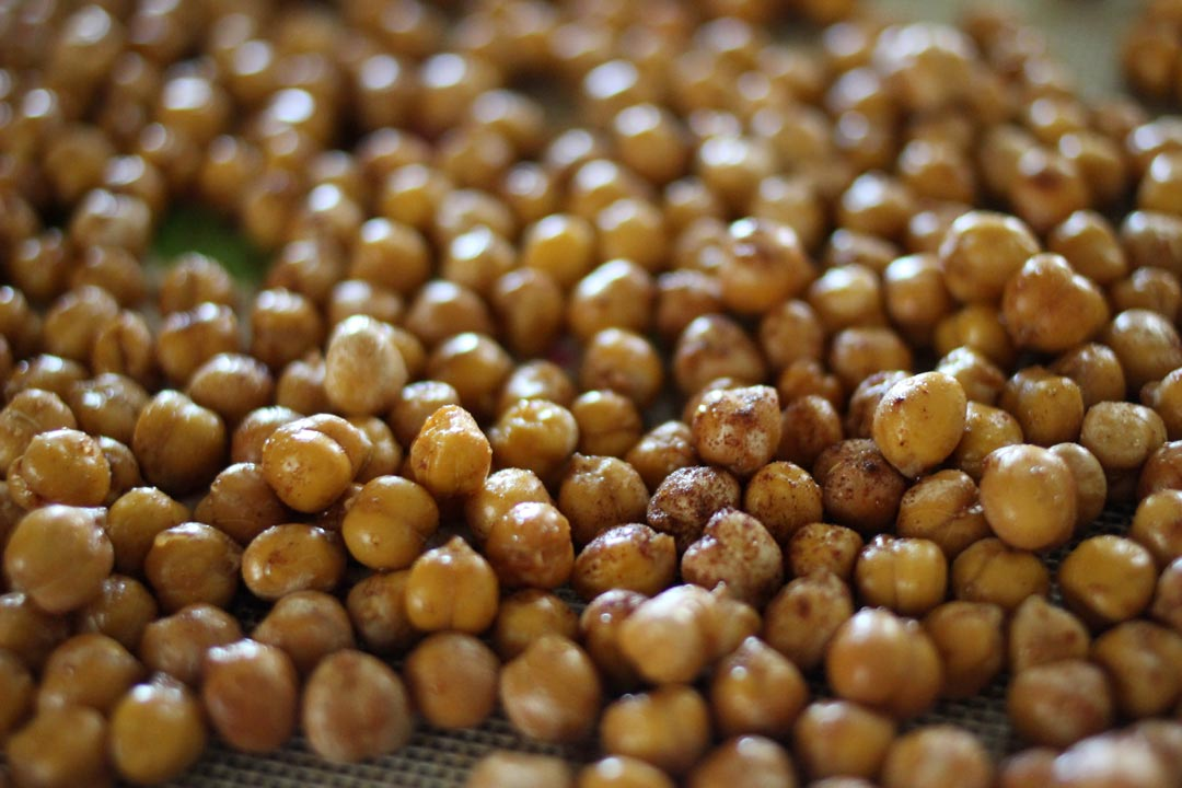 Roasted Chickpeas Recipe by Maiah Miller