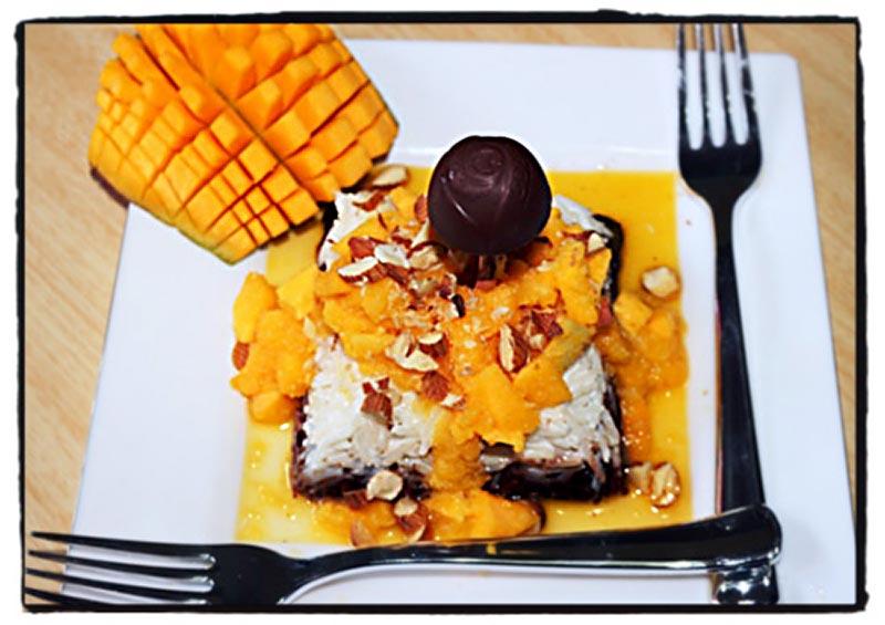 Chocolate Mango Fudge Recipe by Megha Sharma