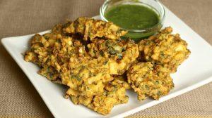 Mixed Vegetable Pakoras Recipe by Manjula