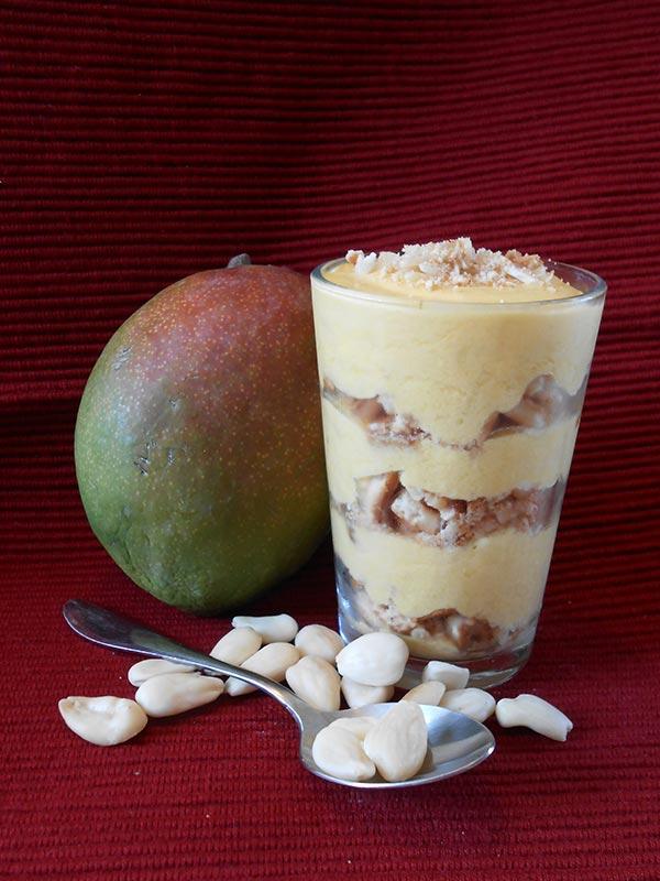 Mango Parfait Recipe by Nadia