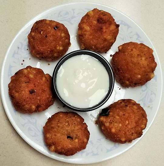 Sago Vadas Recipe by Nandhini