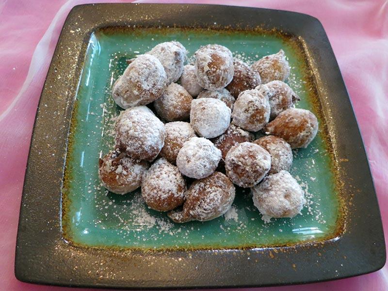 Mango Puff Puffs Recipe by Nibedita