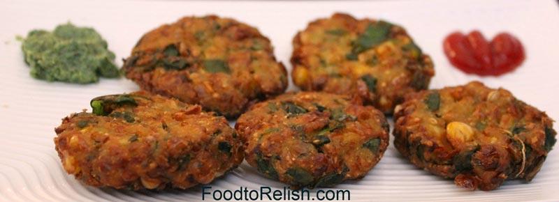 Corn and Spinach Pakoda Recipe by Pavithra