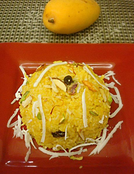 Sweet Mango Pulao Recipe by Pooja Agrawal