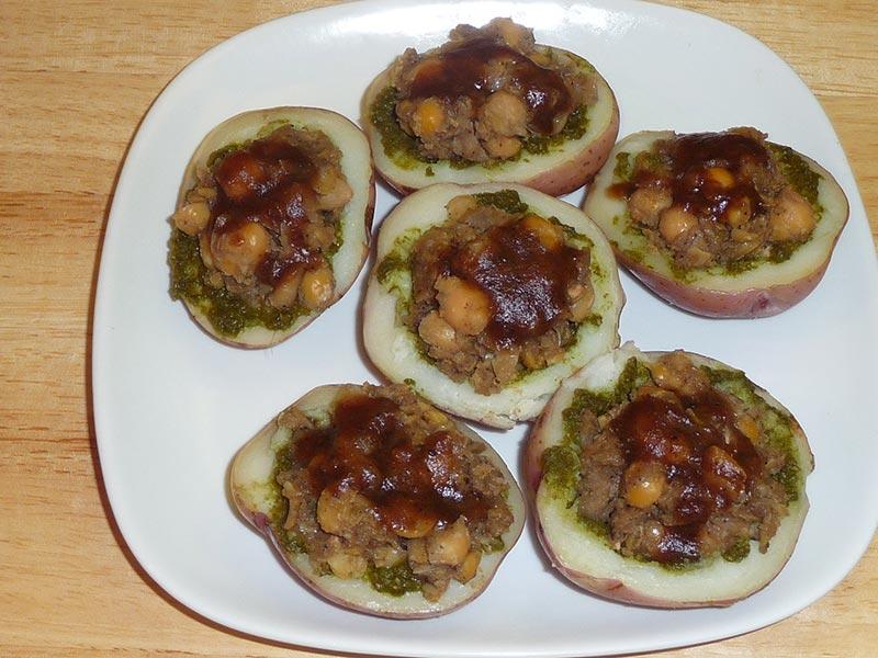 Potato Skins Recipe by Manjula