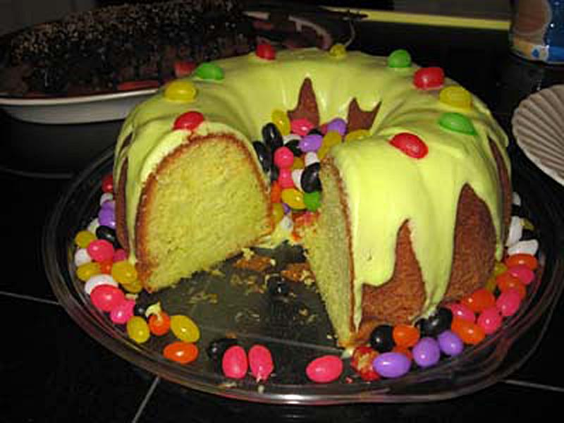 Eggless Melon Cake Recipe by Prachi Agarwal