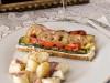 Open-faced Grilled Feta Sandwich Recipe by Priscilla