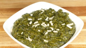 Sarson Ka Saag (Mustard Greens and Spinach) Recipe by Manjula
