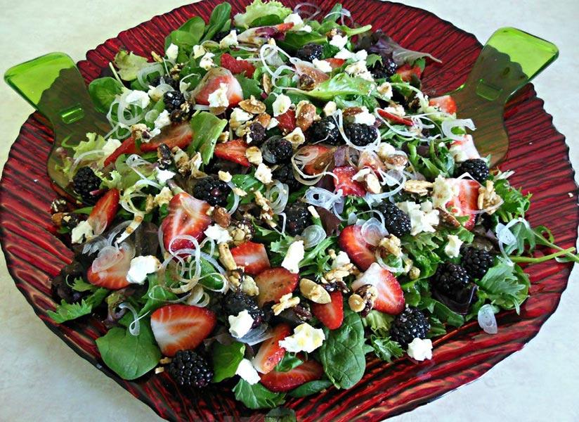 Very Berrilicious Salad Recipe by Sherri Williams