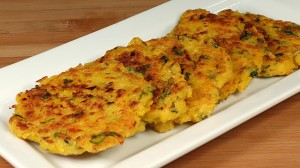 Spicy Corn Patties (Fritters) Recipe by Manjula