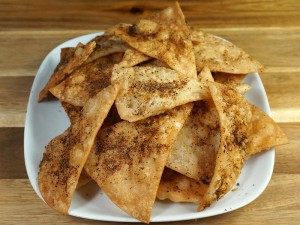 Spicy Indian Chips Recipe by Manjula
