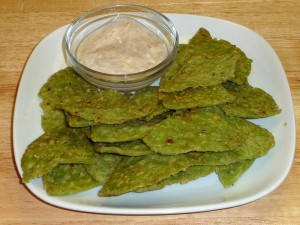 Spinach Triangles Cheese Crackers