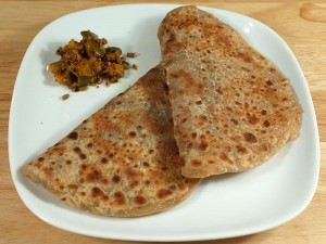 Sweet Paratha (Grilled Flatbread) Recipe by Manjula