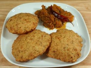 Urad Dal Puri Bedmi Kachori (Indian Spicy Bread) Recipe by Manjula