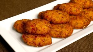 Vegetable Rice Cutlets Recipe by Manjula