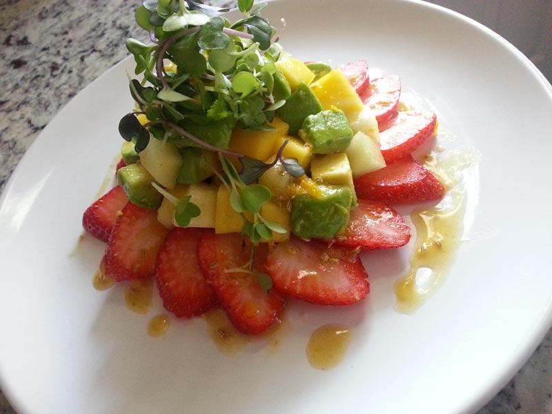 Refreshing Spring Fruit Salad Manjula S Kitchen Indian Vegetarian Recipes