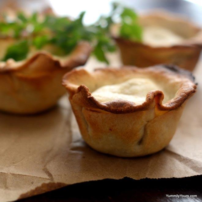 Baked Mini Samosa Pies Recipe by Yummily Yours'