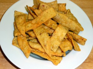 Besan Paare (Spicy Crackers)