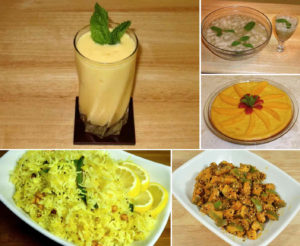 Mango Season Recipes by Manjula