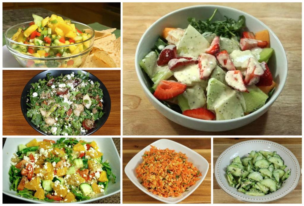 Recetas de ensaladas de verano de Manjula