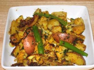 Aloo Gobi (Potato & Cauliflower)