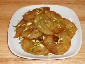 Apple Jalebi (Apple Fritters)