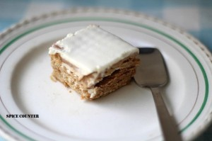 Biscuit Cream Pudding