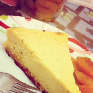 Sweet Potato and Apricot Cheesecake