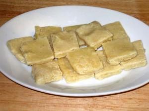 Badam Burfi (Almond Candy)