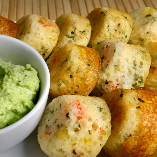 Baked Vegetable Idli Recipe by Manjula