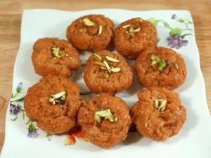 Balushahi (Indian Buttermilk Donut)