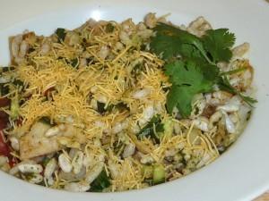 Bhel Puri Chat(Spicy Crunchy Snack)