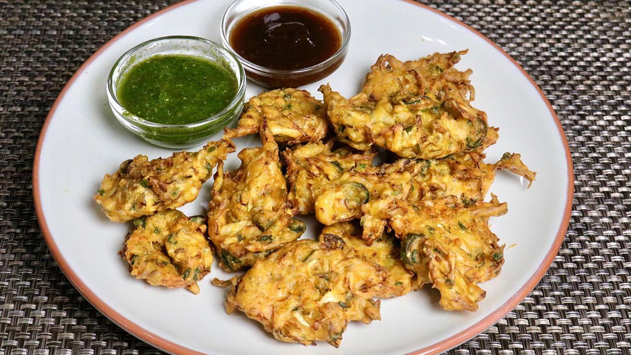 Cabbage Pakora (Bhajia)