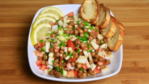 Chana Chaat (Spicy Snack)