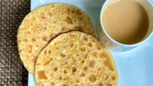 Chana Dal Sweet and Sour Paratha