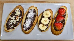Chocolate Ganache Toast
