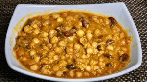 Chole Rajma Curry