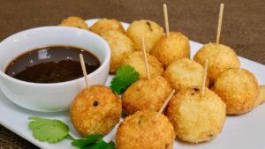 Crispy Potato Balls (Potato Nuggets)