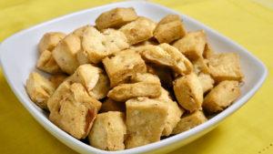 Crispy Shakarpara (Almond Biscuit) Recipe